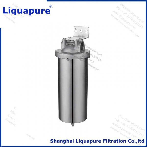 Single round filter housing